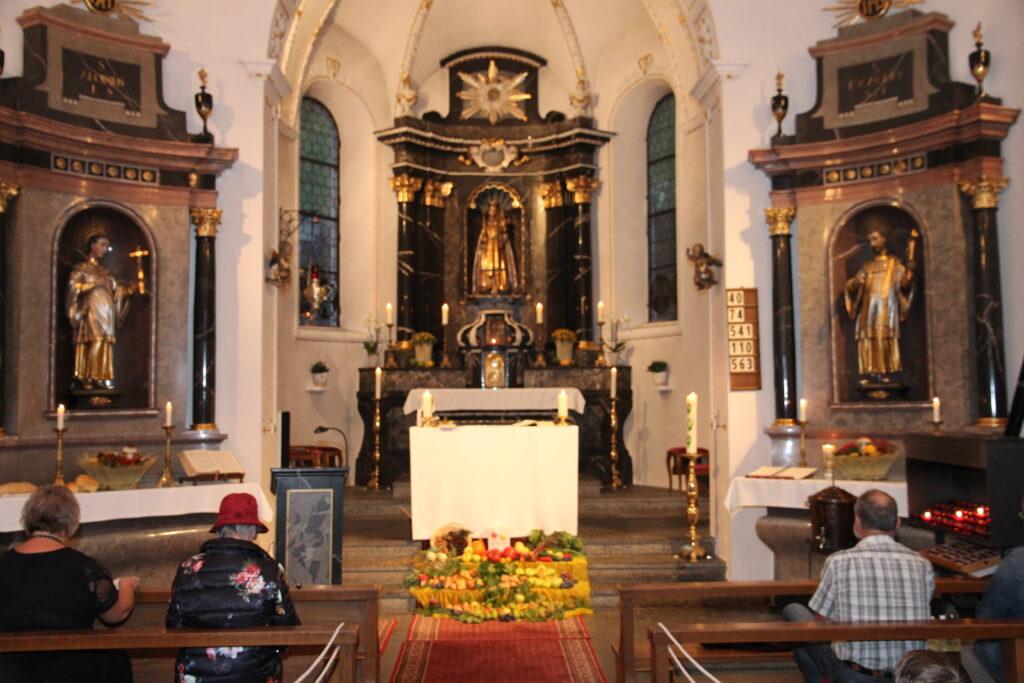 Erntedankgottesdienst am 19. September 2020   ©Roland Blättler