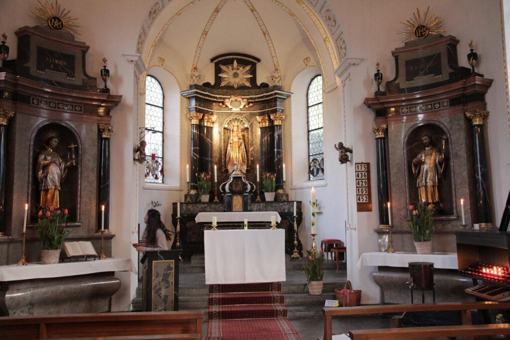 Kapelle Kehrsiten, Altar | ©Roland Blättler
